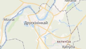Друскінінкай - детальна мапа