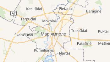 Маріямполе - детальна мапа