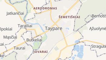 Таураге - детальна мапа