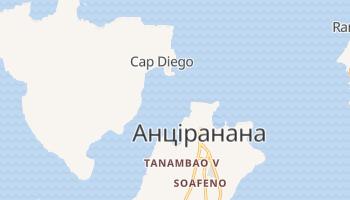Мадагаскар - детальна мапа