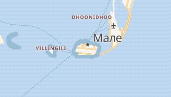 Малє - детальна мапа