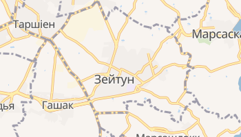 Зейтун - детальна мапа