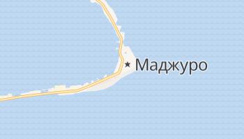 Маджуро - детальна мапа