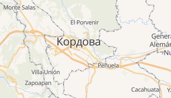 Кордова - детальна мапа