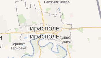 Тирасполь - детальна мапа