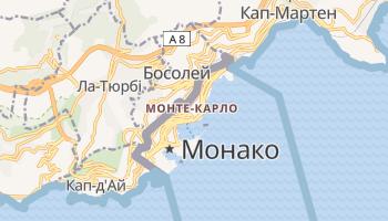 Монте-Карло - детальна мапа