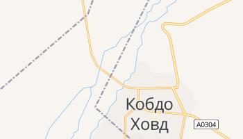 Ховд - детальна мапа