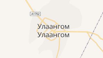 Улаангом - детальна мапа