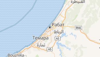 Рабат - детальна мапа