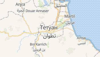 Тетуан - детальна мапа