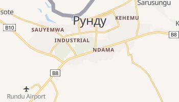 Рунду - детальна мапа