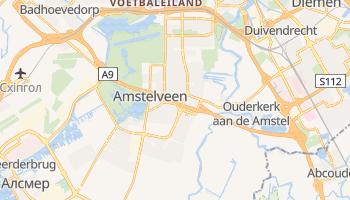 Амстелвен - детальна мапа