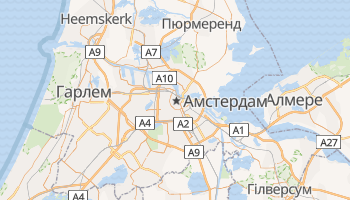 Амстердам - детальна мапа