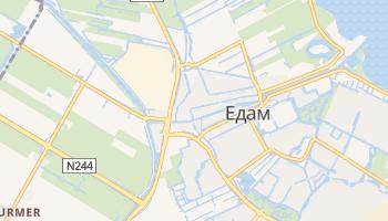 Едам - детальна мапа