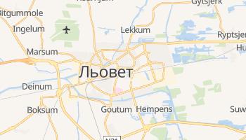 Льовет - детальна мапа
