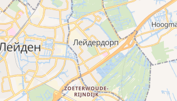 Лейдердорп - детальна мапа