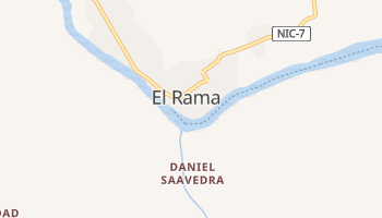 Рама - детальна мапа