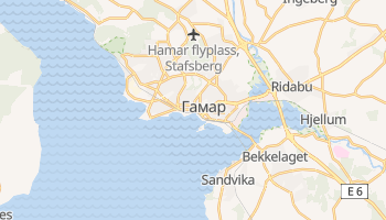 Гамар - детальна мапа