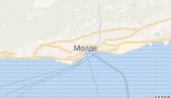 Молде - детальна мапа