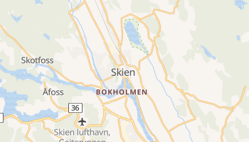 Шієн - детальна мапа