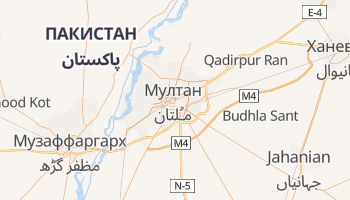 Мултан - детальна мапа