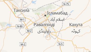 Равалпінді - детальна мапа