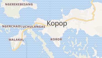 Корор - детальна мапа