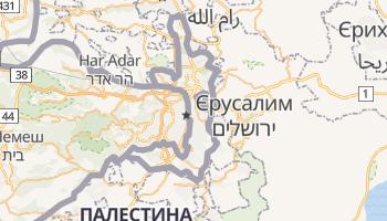 Східний Єрусалим - детальна мапа