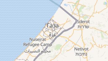 Газа - детальна мапа