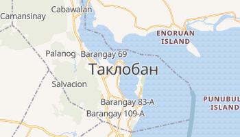 Таклобан - детальна мапа