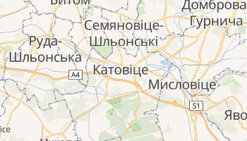 Катовіце - детальна мапа