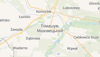 Томашув-Мазовецький - детальна мапа