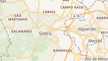 Сінтра - детальна мапа