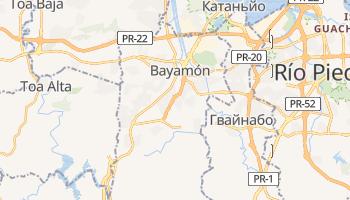 Баямон - детальна мапа