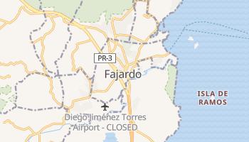 Фахардо - детальна мапа