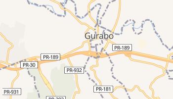 Гурабо - детальна мапа