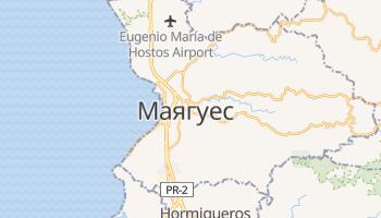Маягуес - детальна мапа