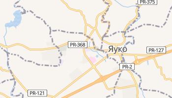 Яуко - детальна мапа
