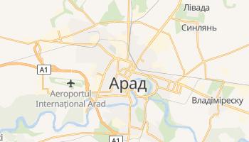 Арад - детальна мапа