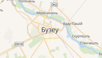 Бузеу - детальна мапа