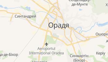 Орадя - детальна мапа