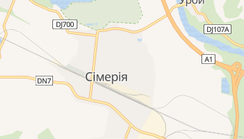 Сімерія - детальна мапа