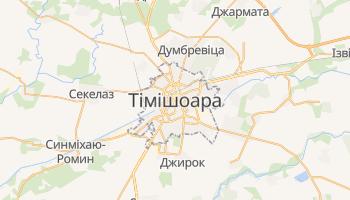 Тімішоара - детальна мапа