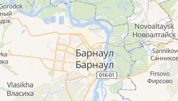 Барнаул - детальна мапа