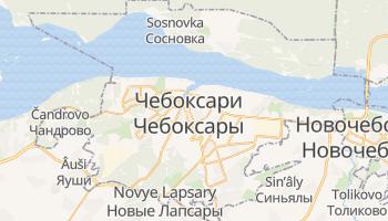 Чебоксари - детальна мапа