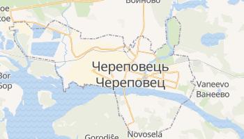 Череповець - детальна мапа