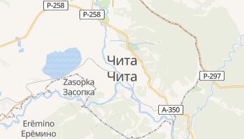 Чита - детальна мапа