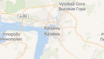 Казань - детальна мапа