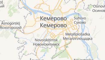 Кемерово - детальна мапа
