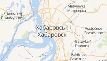 Хабаровськ - детальна мапа
